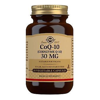 Solgar CoQ-10 30mg Vegicaps 30 (931)
