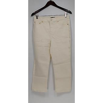 C. Wonder Jeans 5-Pocket Slim Leg Crop Length White A275164