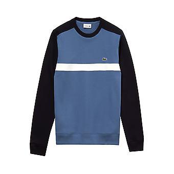 Lacoste Colourblock Sweatshirt Bleu