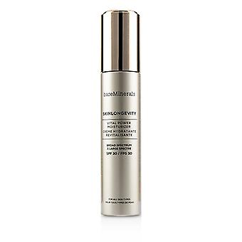 Bareminerals Skinlongevity Vital Power Moisturizer Spf 30 - 50ml/1.7oz