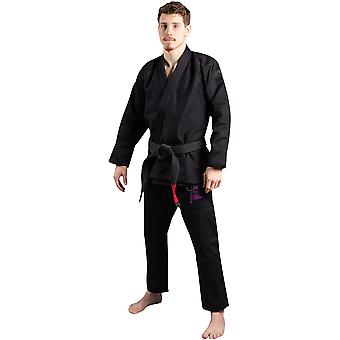 Scramble Athlete 4 Luxury 550gsm + Brasilian Jiu-Jitsu GI-Midnight Edition