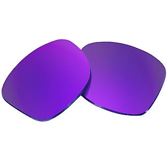 Polarized Replacement Lenses for Oakley Holbrook Sunglasses Purple Anti-Scratch Anti-Glare UV400 by SeekOptics