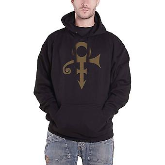 Prince Hoodie Symbol Logo new Official Mens Black Pullover