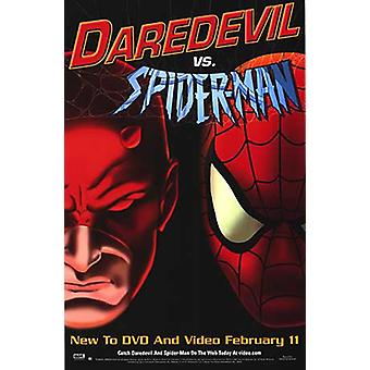 Daredevil Vs. Spiderman (2003) Original Cinema Poster
