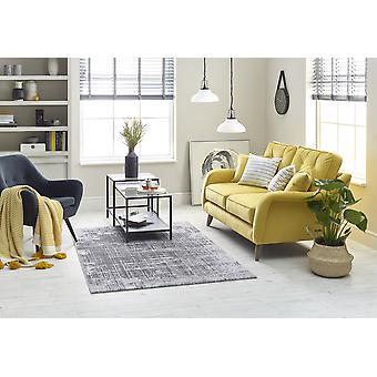 Højhus 7063A/LT. GRÅ/DK. GRÅ rektangel tæpper moderne tæpper