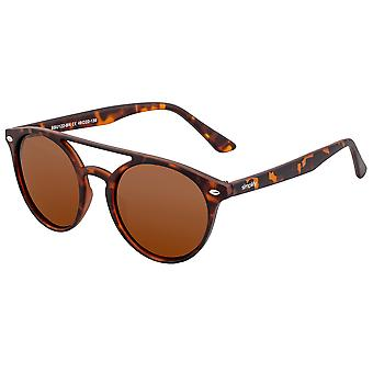 Simplificar finley polarizado gafas de sol - Tortuga / Marrón