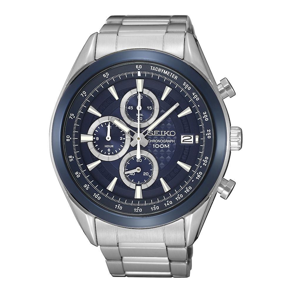 Seiko Classic SSB177P1 Men's Watch Chronograph