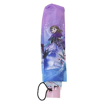Frozen Childrens/Kids Holiday Cheer Fold Up Christmas Umbrella