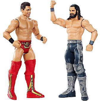 WWE WrestleMania Seth Rollins vs. Miz Battle Packin toiminta luvut
