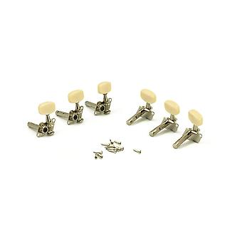 WD Music Steel String Tuners 3+3 Individual Economy