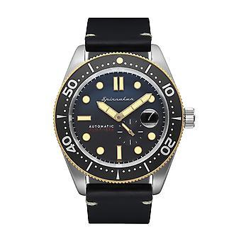 Spinnaker SP-5058-06 Gent's Croft Black Strap Wristwatch