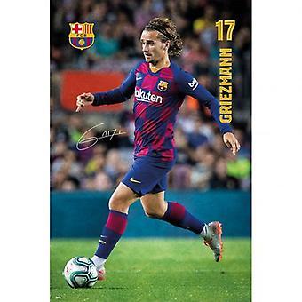 Barcelona affisch Griezmann 3