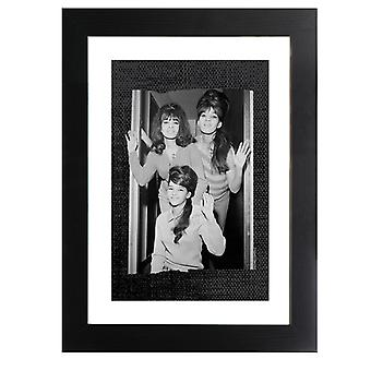 TV Times The Ronettes Wave Framed Print