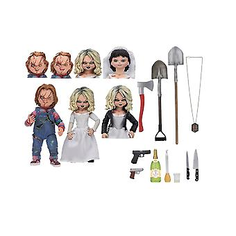 Chucky and Tiffany Ultimate 2-Pack Figure Set from Bride Of Chucky