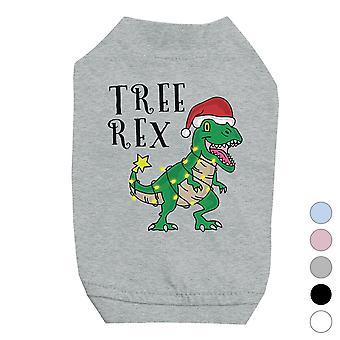 Tree Rex Funny X-mas Pets Shirt Holiday Gift Idea