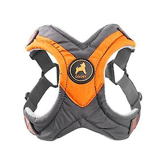 Gooby Trekking Step In Dog Harness Orange - Large