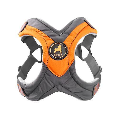 Gooby Trekking Step In Dog Harness Orange - Large