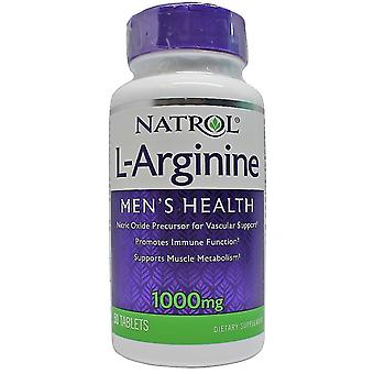 Natrol L-arginiini 1000 mg 50 tabletit