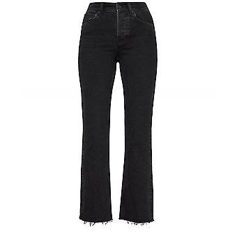 Anine Bing Raw Hem Lara Jeans