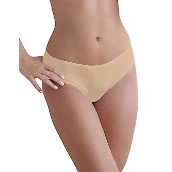 Naomi and Nicole Women's Edgies Nude Laser Cut Hipster A143