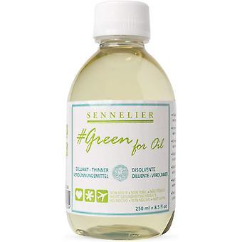 Sennelier Green for Oil Thinner 250ml