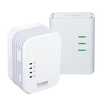 Wi-Fi PLC Adapter D-Link DHP-W311AV 300 Mbps hvid