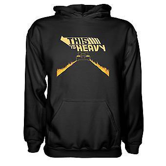 Mens Sweatshirts Hooded Hoodie- This Is Heavy