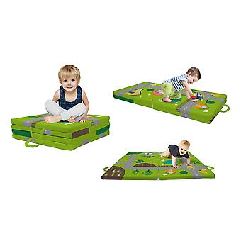 Achoka 3 in 1 Baby Smart Mat Cushion To Nap Mattress to Play Mat