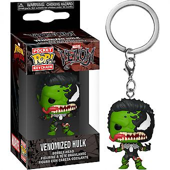 Venom and Hulk Mashup Funko Pop! Keychain