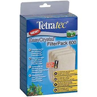 Tetra Tec Easycrystal Pack 600 (Fish , Filters & Water Pumps , Filter Sponge/Foam)