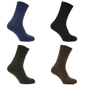 Mens Wool Extreme Cold Thermal Arctic Socks (1 Pair)