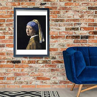 Johannes Vermeer - Girl with a Pearl Earing Poster Print Giclee