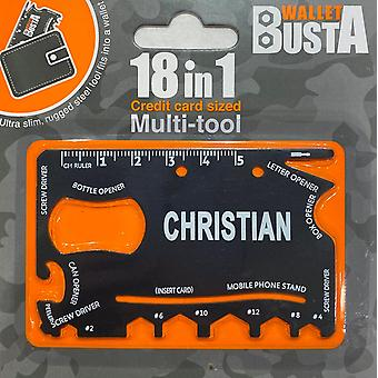 Multitool Multitool CHRISTIAN kredittkort debetkort