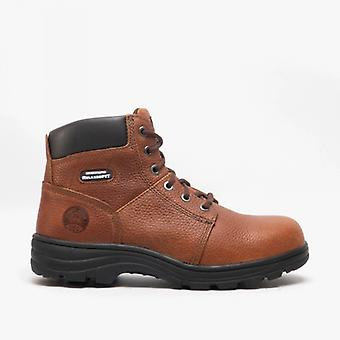 Skechers Work Relaxed Fit - Workshire St Mens Leather Safety Boots Brown