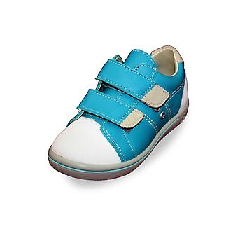 Ricosta nippy teal blue trainer shoes