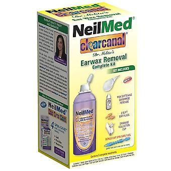 Neilmed clearcanal dr. mehta's earwax removal, complete kit, 1 kit