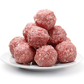 William White Frozen Halal British Beef Meatballs 80%