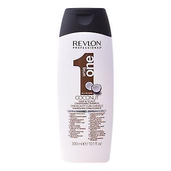 Kosteuttava shampoo Uniq One Coconut Revlon (300 ml)