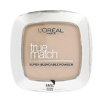 Loreal True Match Super Blendable Face Powder 3.R/3.C Rose Beige 9g