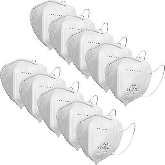 50x Protetor Bucal Ergonômico / Máscara de Respiração FFP2 - CE