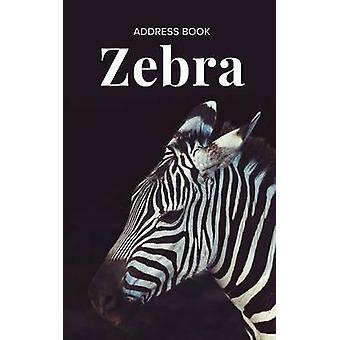 Address Book Zebra by Us & Journals R