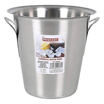 Privilégio balde de gelo 5 l aço inoxidável (22 cm)