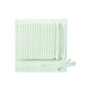 Hive av skönhetssalong Essentials bomullspinnar med pappersstammar - Förpackning med 200