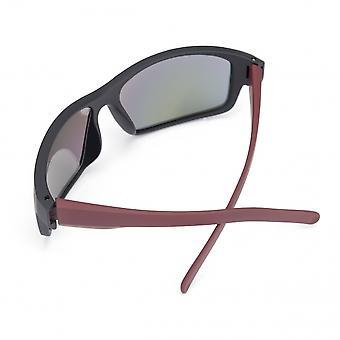 herren-Sonnenbrillen Tal rot/schwarz