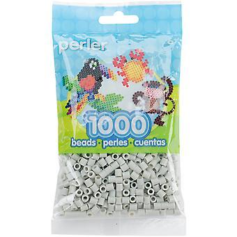 Perler Beads 1,000/Pkg-Light Grey