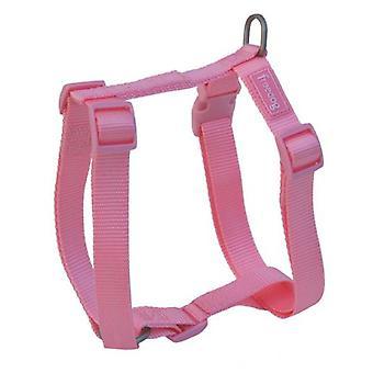 Freedog Tuigje Nylon Basic roze (honden halsbanden, Leads en harnassen, harnassen)