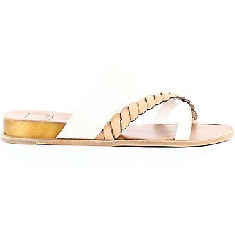 Dolce Vita   Penelope Flat Sandals   Nude Multi   9.5