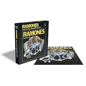 Rock saws - ramones -  road to ruin - 500 piece jigsaw puzzle
