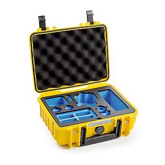 B & W Osmo case type 1000 pro DJI Osmo akce, žlutá
