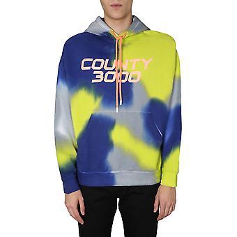 Marcelo Burlon Cmbb040s20fle0058420 Men's Multicolor Cotton Sweatshirt